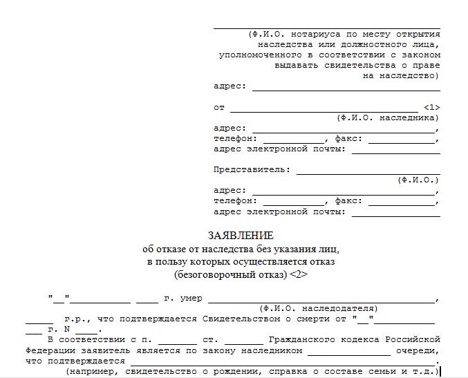 Порядок принятия и отказа от наследства необходимые документы и пошаговое описание процедуры